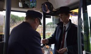 Projet Martin Luther King - scène dans les bus